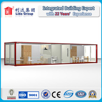 Flat packed container house/Portable Water Container/Long Erection