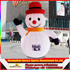 2017 best popular ligthing inflatable snowman for christmas Decorative