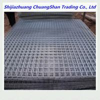 Galvanized welded wire mesh fencing 6x6 reinforcing welded wire mesh panel