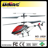 UDIRC 2.4ghz small 3.5-channel alloy helicopter U820