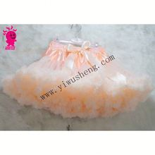 new style candy color and beautiful design kids pettiskirt