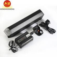 Customized best selling 48 volt Dorado li-ion 18650 e bike battery pack 13s5p 48v with fast charger