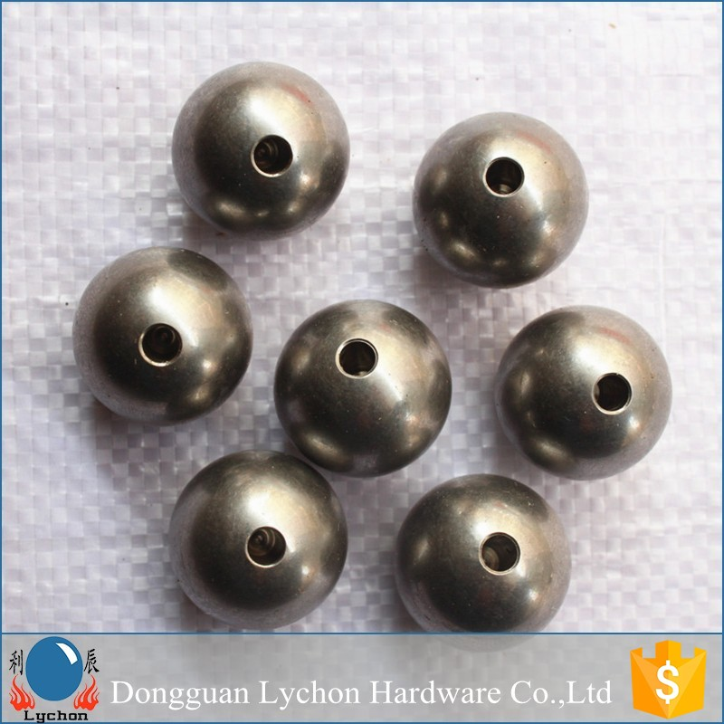 with hole 15mm stainless steel ball drilled