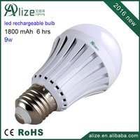 DC and AC adjustment B22 rechargeable emergency led light bulb