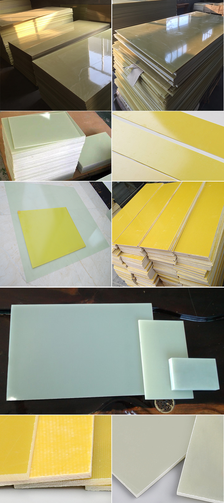 Professional Manufacturers Electrical F-R4 Epoxy Fiberglass Insulation Sheet Board