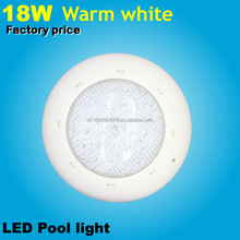 Wholesale IP68 Waterproof 18w LED swimming Pool light Warm white 12V DC/AC High quality Underwater lights pond bulb