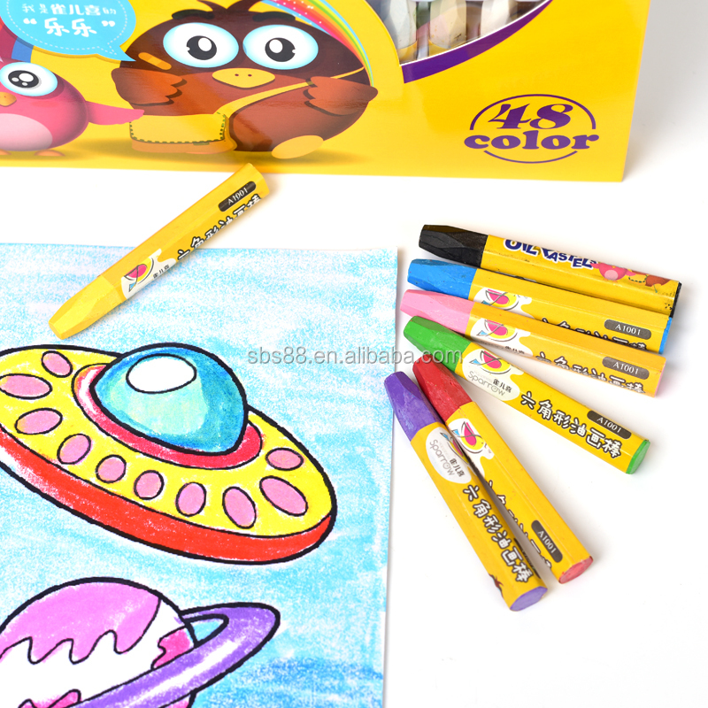 hot selling soft oil pastel pencil for drawing