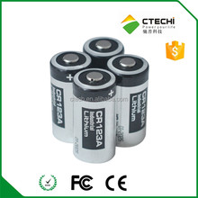 CR123A 1400mAh 3V battery Japan digital camera lithium battery