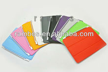 For iPad mini slim tri-fold folio smart cover