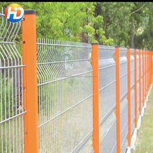 High Quality beautiful Grassland Peach type Column Fence /Fast loading Fence Netting