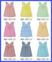 Wholesale 100% Cotton Christening Gowns Dress Flower Sleeve One Pieces Dress Fashionable Quinceanera Dress