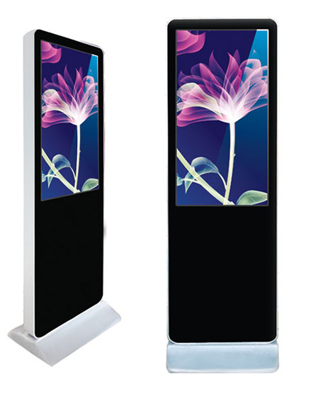 "32"" touch totem with multimedia module With 3G Wifi Wireless Network"