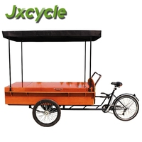 three wheel big space coffee tricycle