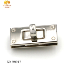 Zinc Alloy metal bag lock parts, custom suitcase lock with low price