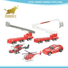 New goods 2017 metal truck model 1:87 fire engine toy for kids