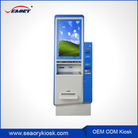 Shopping Malll Advertising Kiosk Machine With Bill Payment