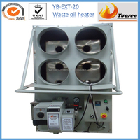 waste oil fired air heater for poultry farm