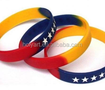 hot sale high quality wrist bands silicone rubber