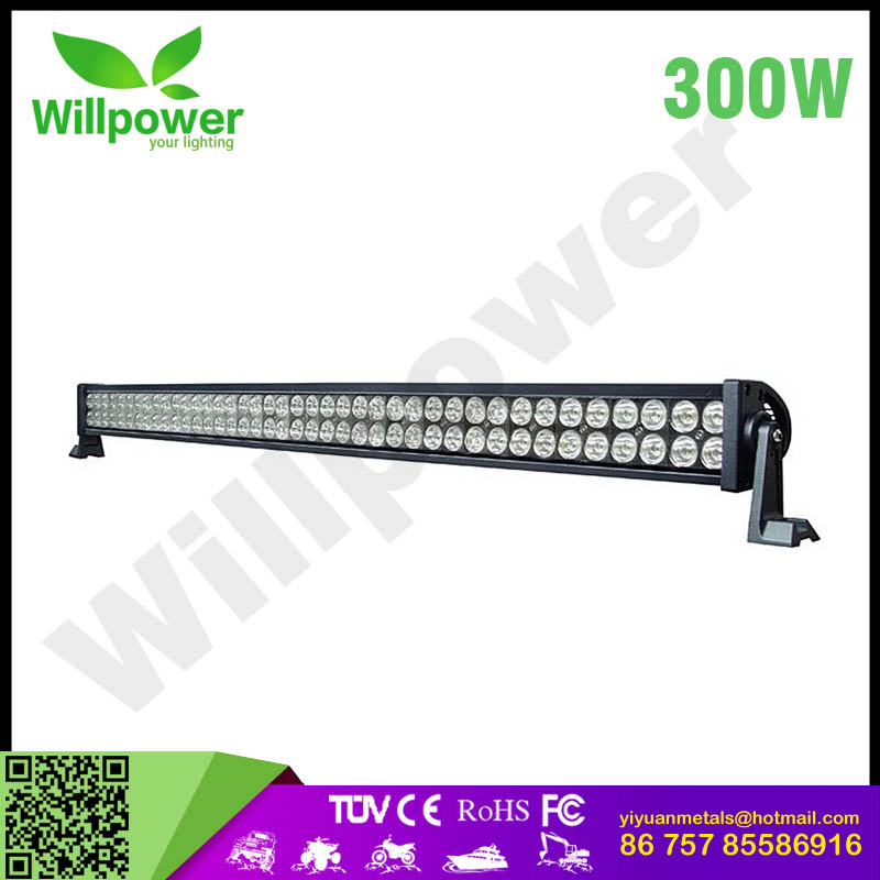 "Brand new top level 52""led light bar for 4x4 car accessories 300W led marine light"
