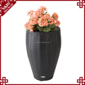 Wholesales handwoven PP plastic flower pot for office and garden