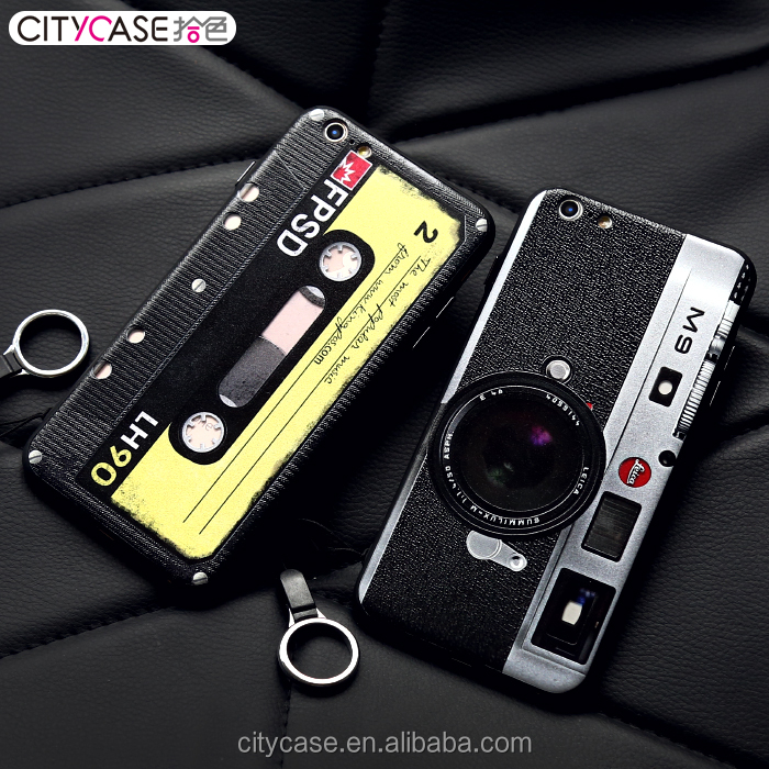 City case Latest Reminiscent series Soft Plastic TPU phone case for iphone 6 6S 6Plus Mobile case Cover
