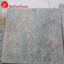 Big size ocean green granite slab price