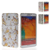 Flower Hard Rubber Back Shell Case Cover For Samsung Galaxy Note 3 N9000