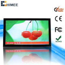 32inch vesa wall mounting network lcd music download for mp3/mp4 advertising player
