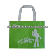 Green Fashion natural canvas tote bags with side gusset