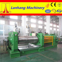 high quality and high production XK series two roll rubber open mixing mill