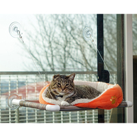 Window Mounted Cat Bed with Big Suction Caps