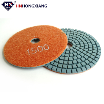 High gloss diamond sponge polishing pad/marble and granite polishing tool
