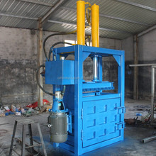 Waste sponge vertical hydraulic baling press machine