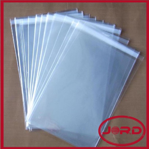 clear self adhesive plastic bags