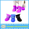 Pet products Dog shoes For Rain Days Candy colour Teddy Pet Dog Antislip Waterproof dog Rainboots Rain Shoes