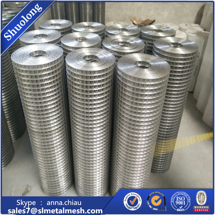 Wholesale 1.5 inch 10x10 welded wire mesh / 3x3 galvanized welded wire mesh panel