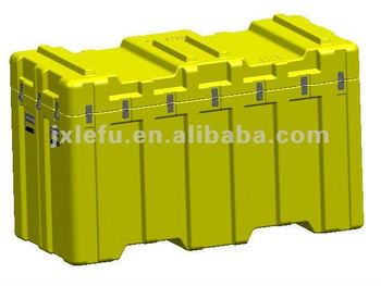 Large Plastic Tool Case With Forklifts Handling LLDPE/Plastic Equipment Tool Case