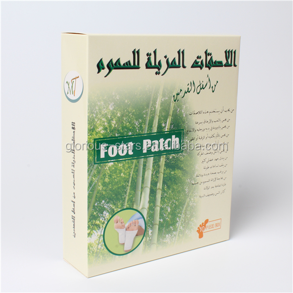 M1295 Detox foot Product East version health broadcast detox foot patch