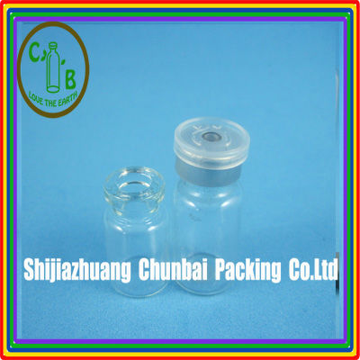 glass vial siliconized