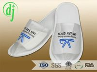 down filled discounted hotel shoes or slippers /latest design flip flops