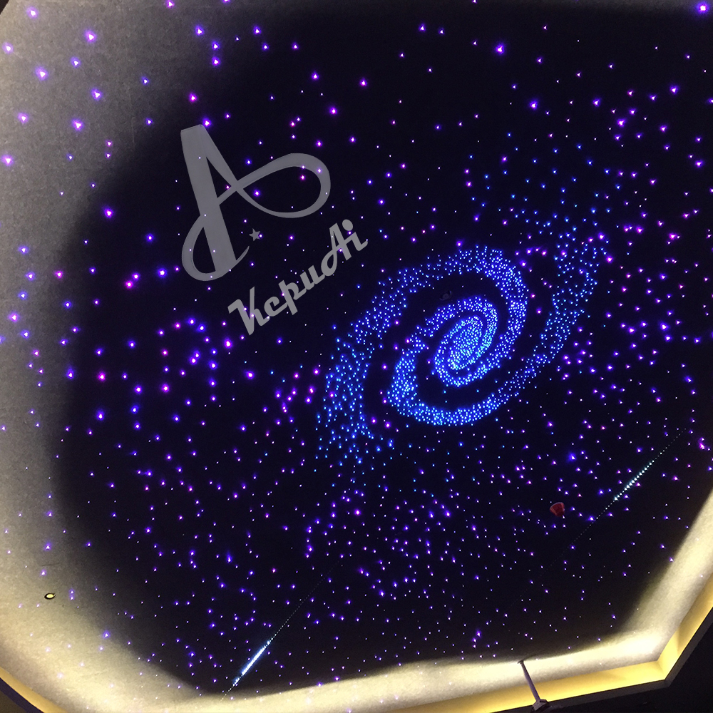 Indoor Decorative Lighting Optic Fiber Star Sky ceiling light with twinkling stars