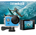 Action Camera HD 4K WiFi 1080P LCD Go Sport Camera Waterproof Camera