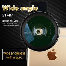 0.45X promotion gift fisheye lens camera lens cover for mobile phone