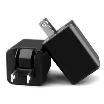 5V 2.1A UL-60950 dual USB Portable with sensor IC folding Mobile Phone Wall Charger for Eu/Us
