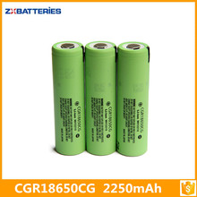 100% Original CGR18650 3.7v 2250mah CGR 18650 CE Li-ion Battery From Japan For Panasonic