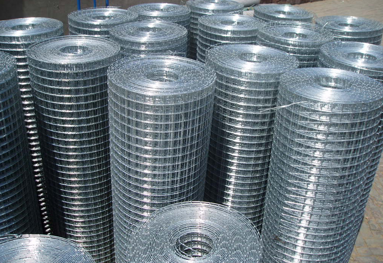 anti-corrosive beautiful form galvanized welded wire mesh (direct factory)