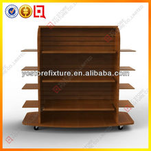 4 Tiers Wood Supermarket used bakery display cases for sale
