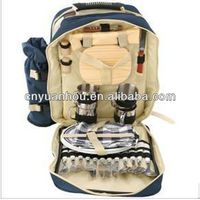 fashion 4 persons picnic bags/picnic backpack
