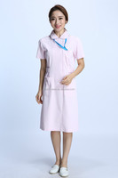 pink color Doctor nurse uniform lab coat IYH-Q-3