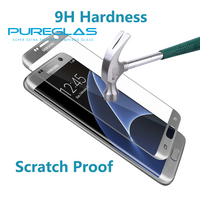 100% Precise Touch Tempered Glass 0.3mm Touch Strong Anti-Shatter 3D Full Cover Screen Protector for samsung galaxy s7 edge